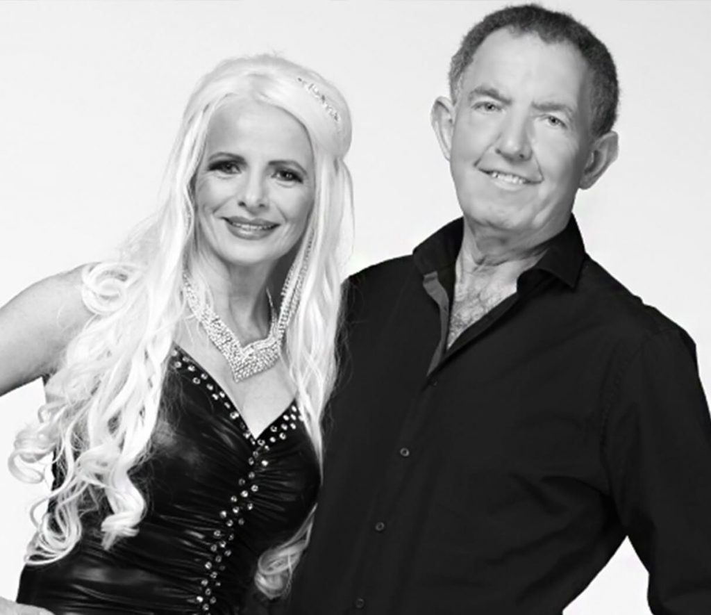 Arlene-Arlene-with-Doug-bandw-1024x885-1